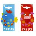 Tatiri houten letter - O