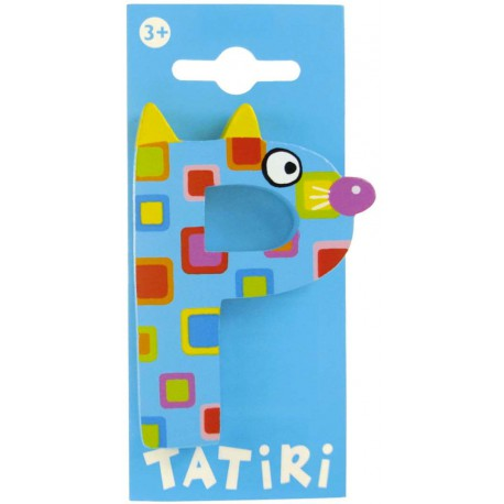 Tatiri houten letter - P