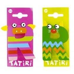 Lettre en bois Tatiri - R