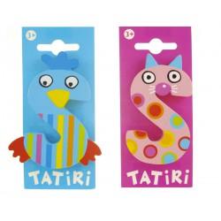 Tatiri houten letter - S