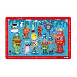 Crocodile Creek Robot Placemat
