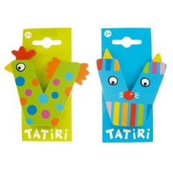 Lettre en bois Tatiri - V