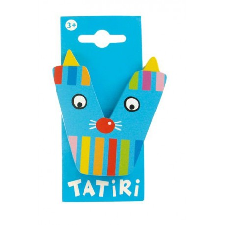 Tatiri houten letter - V