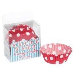 Caissettes à cupcakes Rouge à pois