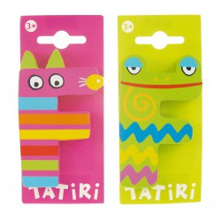 Tatiri houten letter - F