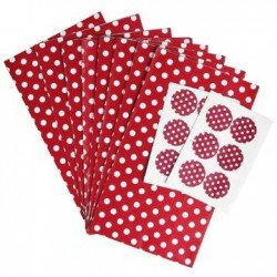 8 Pochettes Cadeau + stickers
