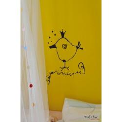"""Stickers mural """"Princesse"""" Le Prédeau"""