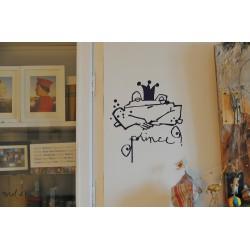 """Stickers mural """"Prince"""" Le Prédeau"""