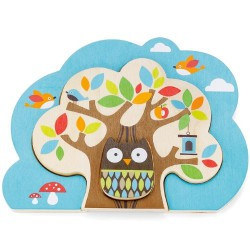 Puzzle TreeTop Friends