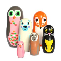 Matriochkas Animaux 2 (PVC)