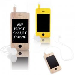 Mijn eerste houten smartphone
