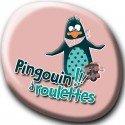 Pingouin à roulettes